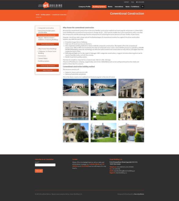 Conventional Construction - Smart Building