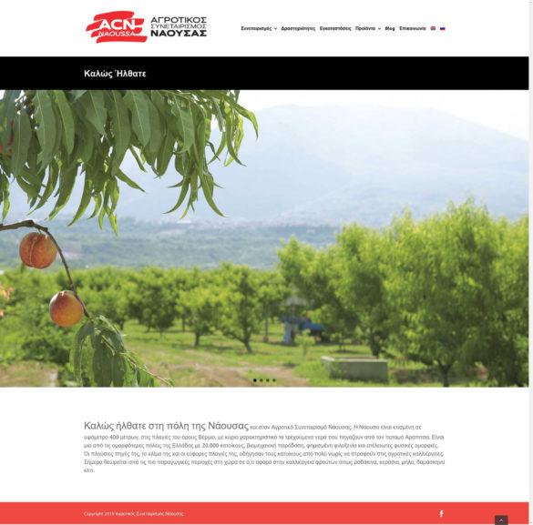 Καλώς Ήλθατε - Αγροτικός Συνεταιρισμός Νάουσας