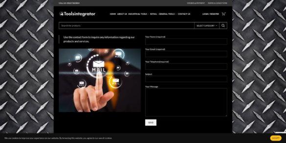 Contact Us - Tools Integrator