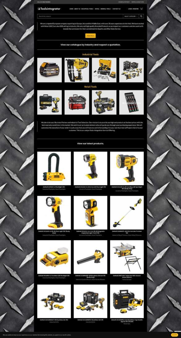 Home - Tools Integrator
