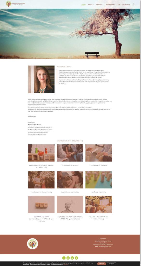 1. Φωτεινή-Ελβίσα Φρροκάι - Ψυχολόγος - Ψυχοθεραπεύτρια - Ψυχολόγος Χίος